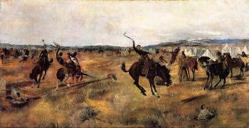 Charles Marion Russell : Breaking Camp