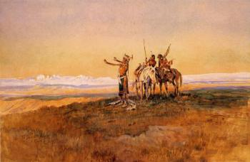 Charles Marion Russell : Invocation to the Sun