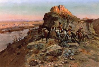 Charles Marion Russell : Planning the Attack