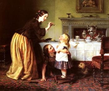 Charles West Cope : Breakfast Time