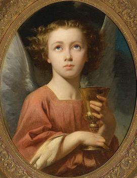 An Angel Holding a Chalice