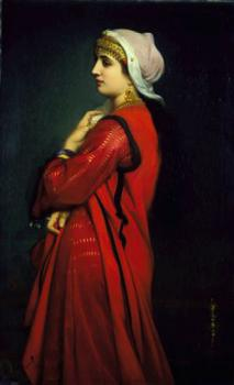 Charles Zacharie Landelle : An Armenian Woman