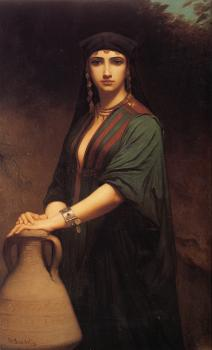 Charles Zacharie Landelle : Female Fellah