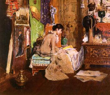 William Merritt Chase : In the Studio Corner