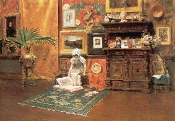 William Merritt Chase : In the Studio