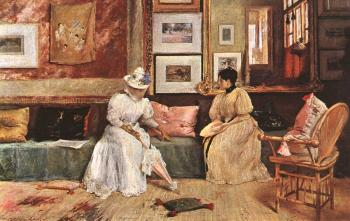 William Merritt Chase : A Friendly Visit