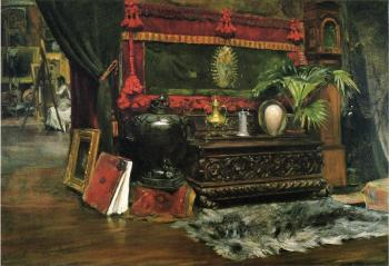 William Merritt Chase : A Corner of My Studio