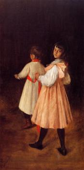 William Merritt Chase : At Play