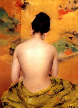William Merritt Chase : Back Of A Nude