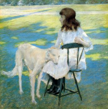 William Merritt Chase : Good Friends