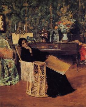 In The Studio c1892