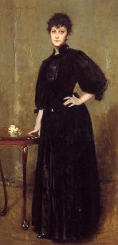 Lady in Black aka Mrs Leslie Cotton