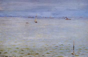William Merritt Chase : Seascape c1888