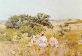 William Merritt Chase : Fairy Tale aka A Summer Day