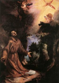 Cigoli : St Francis Receives the Stigmata