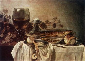 Pieter Claesz : Breakfast Piece