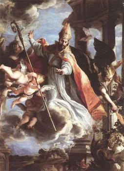 Claudio Coello : The Triumph Of St Augustine