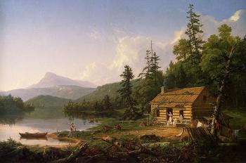 Thomas Cole : Home in the Woods