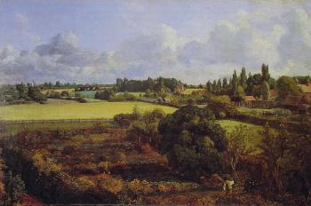 John Constable : Golding Constable's Kitchen Garden