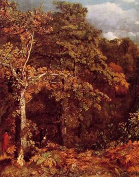 John Constable : Wooded Landscape