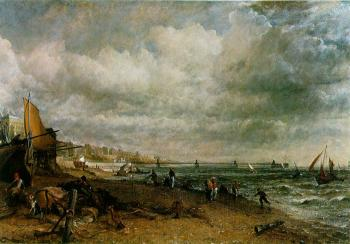 John Constable : Chain Pier, Brighton