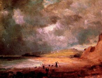John Constable : Weymouth Bay II