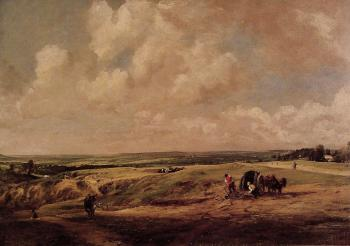 John Constable : Hamstead Heath