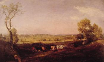 John Constable : Dedham Vale Morning
