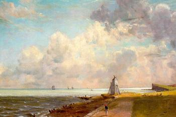 John Constable : Harwich Lighthouse