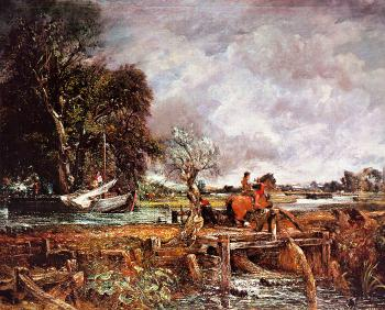 John Constable : The Leaping Horse