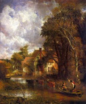John Constable : Die Valley Farm