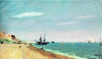 John Constable : Brighton Beach with Colliers II