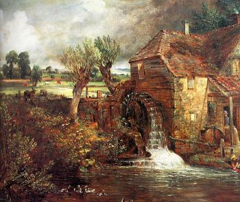 John Constable : A Mill at Gillingham in Dorset