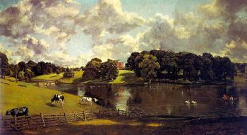 John Constable : Wivenhoe Park, Essex II