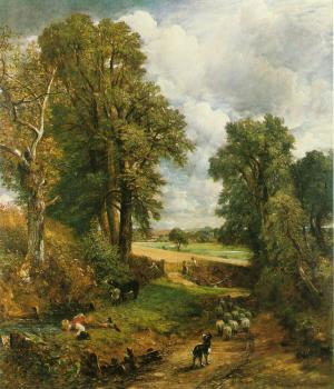 John Constable : The Cornfield II