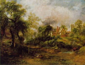 John Constable : The Glebe Farm II