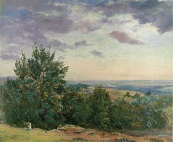 John Constable : Hampstead Heath, looking towards Harrow