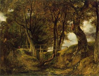 John Constable : Helmingham Dell