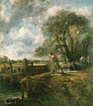 John Constable : The Lock