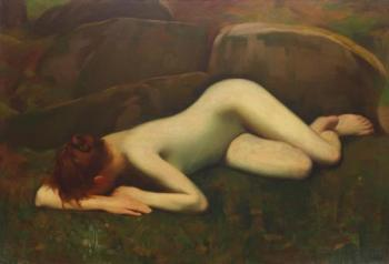 Constantin Artachino : Biblis transformed into a brook