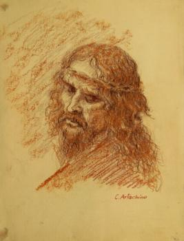 Constantin Artachino : Christ, study