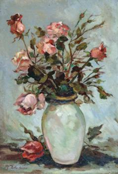 Constantin Artachino : Pink rose