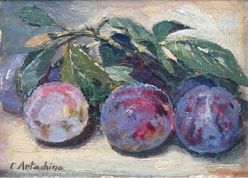 Constantin Artachino : Plums