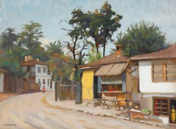 Constantin Artachino : Street in turtucaia
