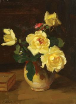 Constantin Artachino : Yellow roses