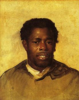John Singleton Copley : Head of a Negro