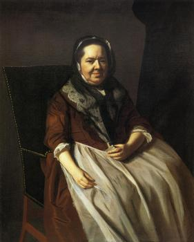 John Singleton Copley : Mrs. Paul Richard (Elizabeth Garland)