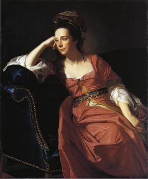 John Singleton Copley : Mrs. Thomas Gage (Margaret Kemble)