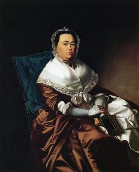 John Singleton Copley : Mrs. James Russell (Katherine Graves)