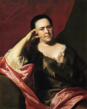 John Singleton Copley : Mrs. John Scoally (Mercy Greenleaf)